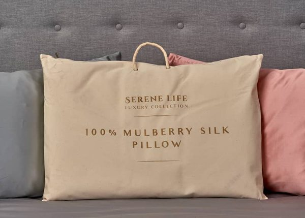 mulberrry silk pillow